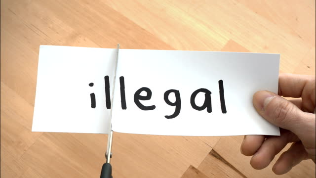 Illegal To Legal By Scissors