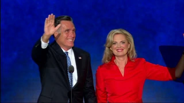 Illinois Participates In Roll Call At RNC on August 28 2012 in Tampa Florida