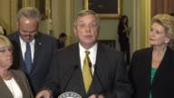 Illinois Senator Richard Durbin says the day before will not be soon forgotten after an announcement by the Trump administration about the deferred...