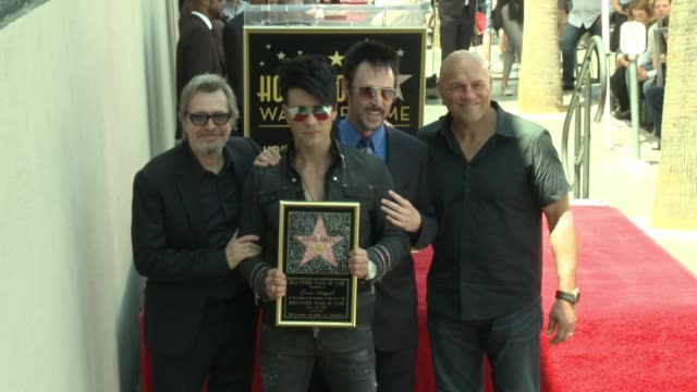 CHYRON Illusionist Criss Angel Honored With Star on the Hollywood Walk of Fame on July 20 2017 in Hollywood California