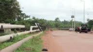 Stock shots of Ghanas oil industry on October 24 2013 in Accra Ghana