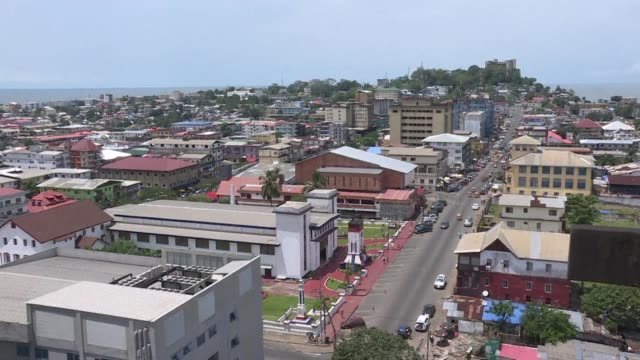 Images of Liberia's capital Monrovia as the small West African country prepares to head to the poll for the second round of the presidential election...