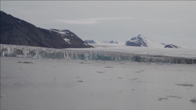 Images of the Spitbergen Glaciers of Svalbard Norway