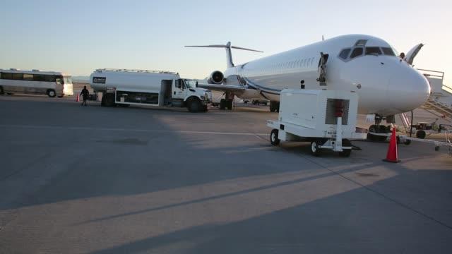 Immigration detainee deportation flight Immigration detainee deportation flight on February 28 2013 in Mesa Arizona