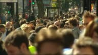 freedom of movement between EU and UK will end say government ENGLAND London MOTION shoppers along busy Oxford Street