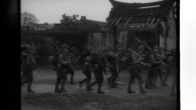 Imperial Japanese Army infantry land west of Shanwei and advance to Heifeng where they capture Heifeng Castle and take possession of a cache of enemy...