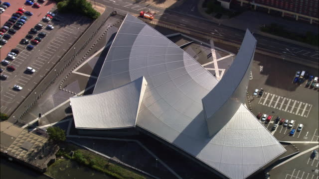 AERIAL, Imperial War Museum North, Salford Quays, Manchester, England