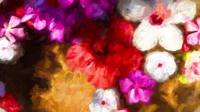 Impressionistiska blommor