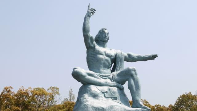 Impressive Peace Statue in Nagasaki Peace Park