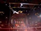 In 1859 Frenchman Jules L�otard presented the first ever flying trapeze show at ParisÕs Cirque dÕHiver Paris Paris France