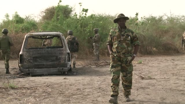 In a visit arranged for national and international press the Nigerian army has been parading its progress against the Islamist rebel group Boko Haram...