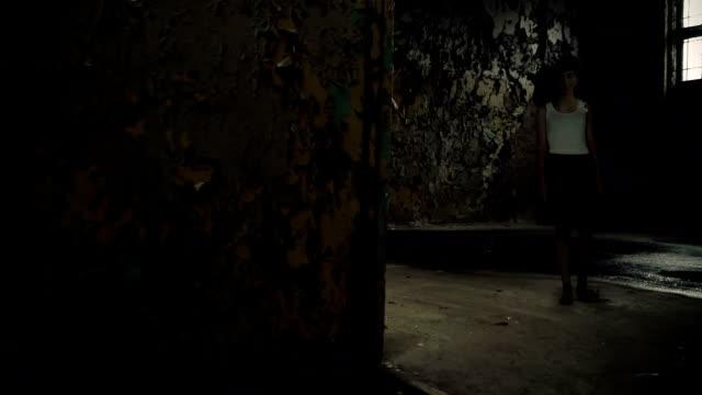 in abandom warehouse