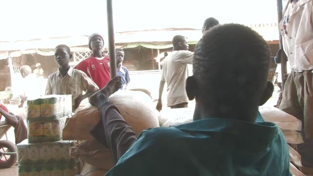 In Aweil the capital of North Bahr elGhazal on the border between North and South Sudan traders are celebrating cutting the umbilical cord to...