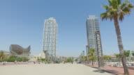 POV in Barcelona summer vacations
