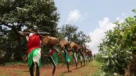 In Burundi drums are a popular source of entertainment but in centuries gone by drumming was a sacred and symbolic ritual