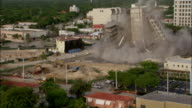 WS ZI TU   In demolitionof building Core remains stand  / Coral Gables, Florida, USA