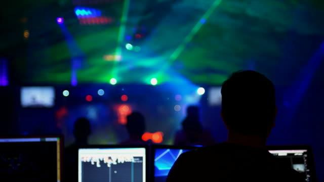 CU DJ in front of dance floor