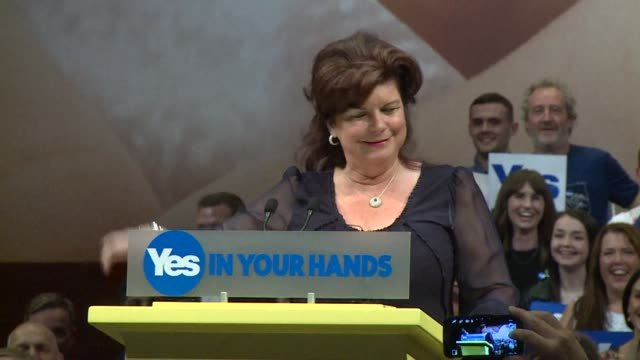 In front of hundreds of supporters shouting Yes we can First Minister Alex Salmond urged Scots to seize the opportunity of a lifetime Thursday and...