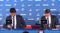 In his first news conference with Nasser Al Khelaifi Paris Saint Germains president Argentine winger Angel di Maria says he is proud to represent a...
