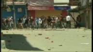 In Indian Administered Kashmir people staged protests in Bemina area of Srinagar against the killing of a Militant by Indian Security Forces The...