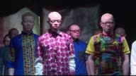 In many parts of Africa albinos are stigmatised or hunted for their body parts but for one night in Kenya those with the condition took to the...