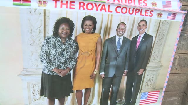 In Nairobi preparations are underway ahead of US President Barack Obamas visit in two weeks