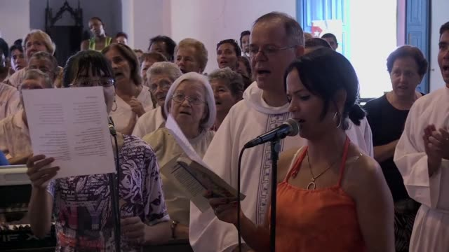 In Sancti Spiritus a colonial city in the centre of Cuba a French priest and his band have set out to rejuvenate CatholicismAlban Marie as the...