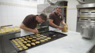 In the bakery, christmas time