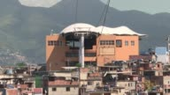 In the build up to the 2014 World Cup and 2016 Rio Olympics the cable car built over one of Rio's most violent favelas was meant to show that...