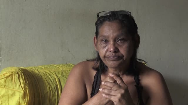 In the fridge belonging to Luber Faneitte a Venezuelan 56 year old public worker with lung cancer there is only water