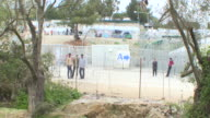 In the Greek island of Lesbos the registration center of Moria turned detention center after the EUTurkey migration deal