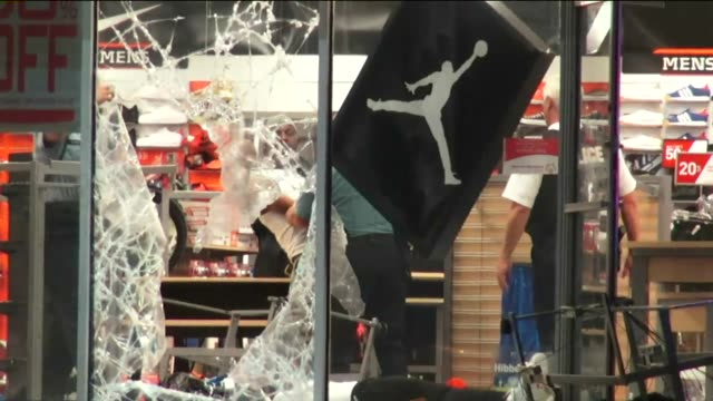 KTVI In the wake of the shooting death of unarmed Michael Brown protests and later looting broke out in Ferguson Mo on Aug 10 2014