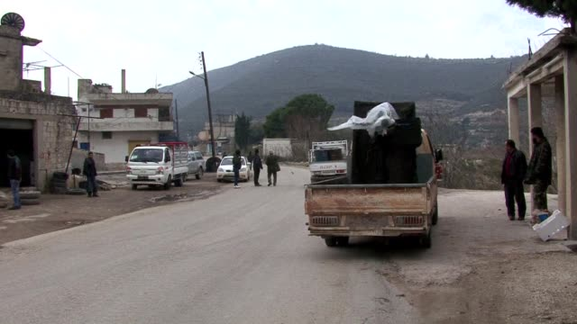 In this green mountainous part of northwest Syria the boom of shells vibrate every few hours through dozens of villages abandoned by their terrified...