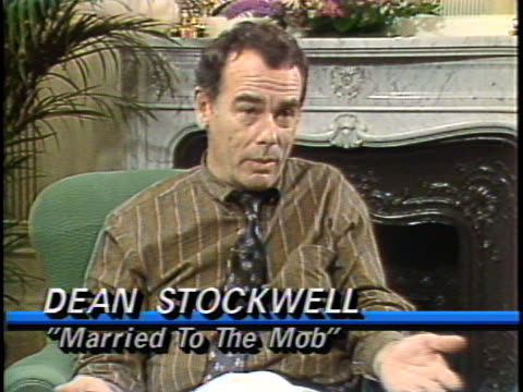In this interview actor Dean Stockwell talks about his latest film Married to the Mob Stockwell discusses his actor's craft and his favorite role to...