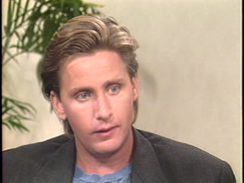 In this interview actor Emilio Estevez talks about his starring role in Young Guns Estevez discusses how he brought the legendary Billy the Kid to...