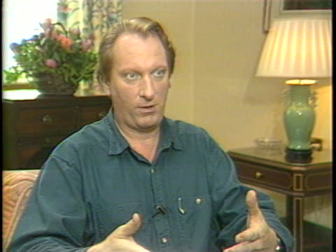 In this unedited interview actor Jeffrey Jones talks about his latest film Without a Clue Jones discusses his work as a character actor and what...