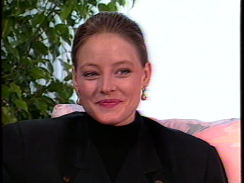 In this unedited interview actress Jodie Foster talks about her latest film The Accused Foster talks about the Oscar buzz surrounding her performance...