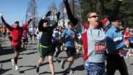 In today's Big Story we show you the sights and sounds of the 2011 Boston Marathon Sights and sounds of the 2011 Boston Marathon on April 18 2011 in...