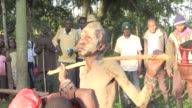 In Webuye in Western Kenya young men from the Luhya community undergo circumcision to mark their transition from boyhood to manhood