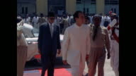 Inauguration of a new school by Prince Prince Karim Aga Khan in Pakistan