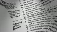 ECU, FISH EYE, Income tax return form