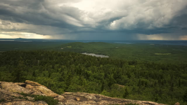 Incoming Storm In Acadia National Park