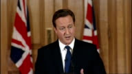 Independent review into university funding due London Downing Street David Cameron MP press conference SOT In terms of tuition fees the work being...