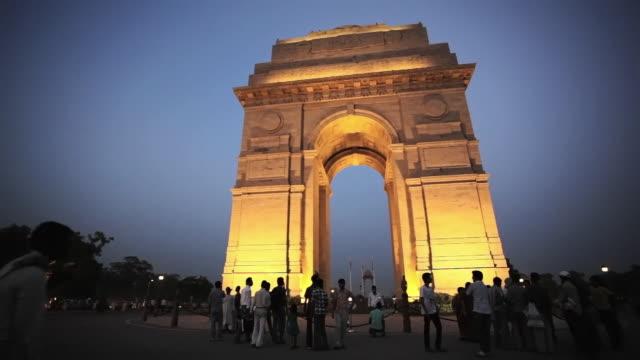 LS India Gate at dusk / Delhi, Punjab, India