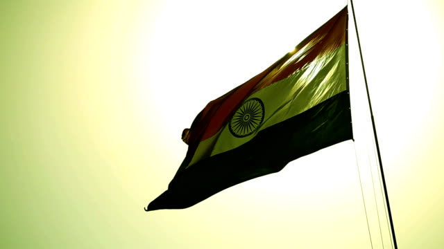Indische Nationalflagge (Tricolor)