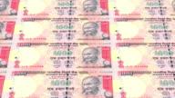 Indian rupee printing - animation