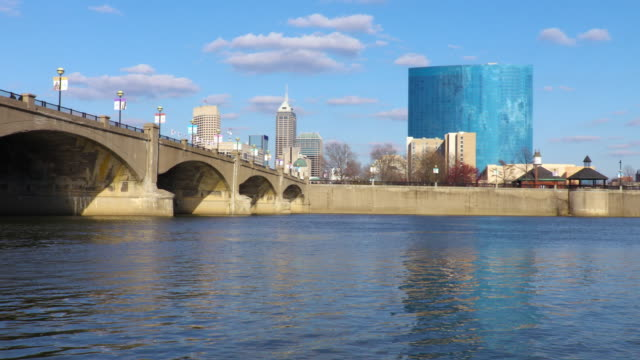 Indianapolis Skyline along the White River