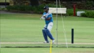 Indias cricket team trains in Adelaide ahead of Sundays much anticipated World Cup clash against Pakistan