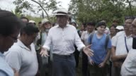 Indigenous Canadian leaders Monday visited oil contaminated zones of the Amazon in Ecuador which were previously operated on by petrol giant Chevron...