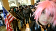 Indonesian fans of Japanese anime and pop culture descended on the Indonesian capital Jakarta at the weekend for the 'HelloFest8' annual pop culture...